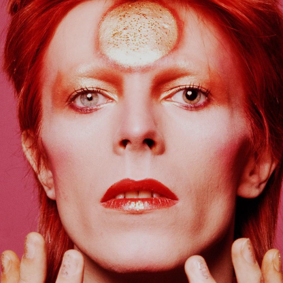 Foto: David Bowie por Masayoshi Sukita